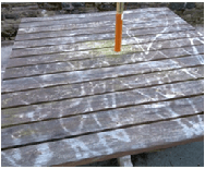 Endurance products last longer than standard wooden benches and tables