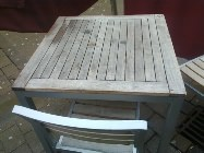 Endurance products last longer than standard wooden tables and chairs