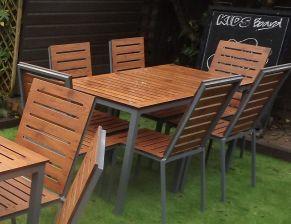 Endurance no maintenance outdoor rectangular table