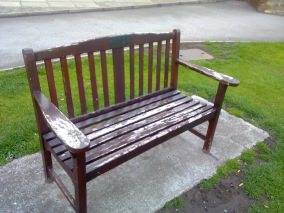 Endurance products last longer than standard wooden benches