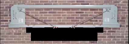 No More Props temporary lintel