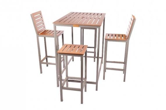 Classic Rectangular Poseur Table