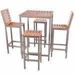 Classic Square Poseur Table